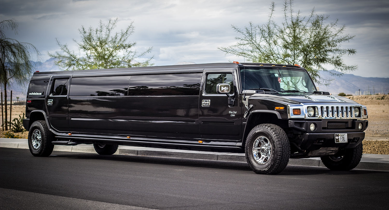 Black Stretch Hummer Limo Las Vegas