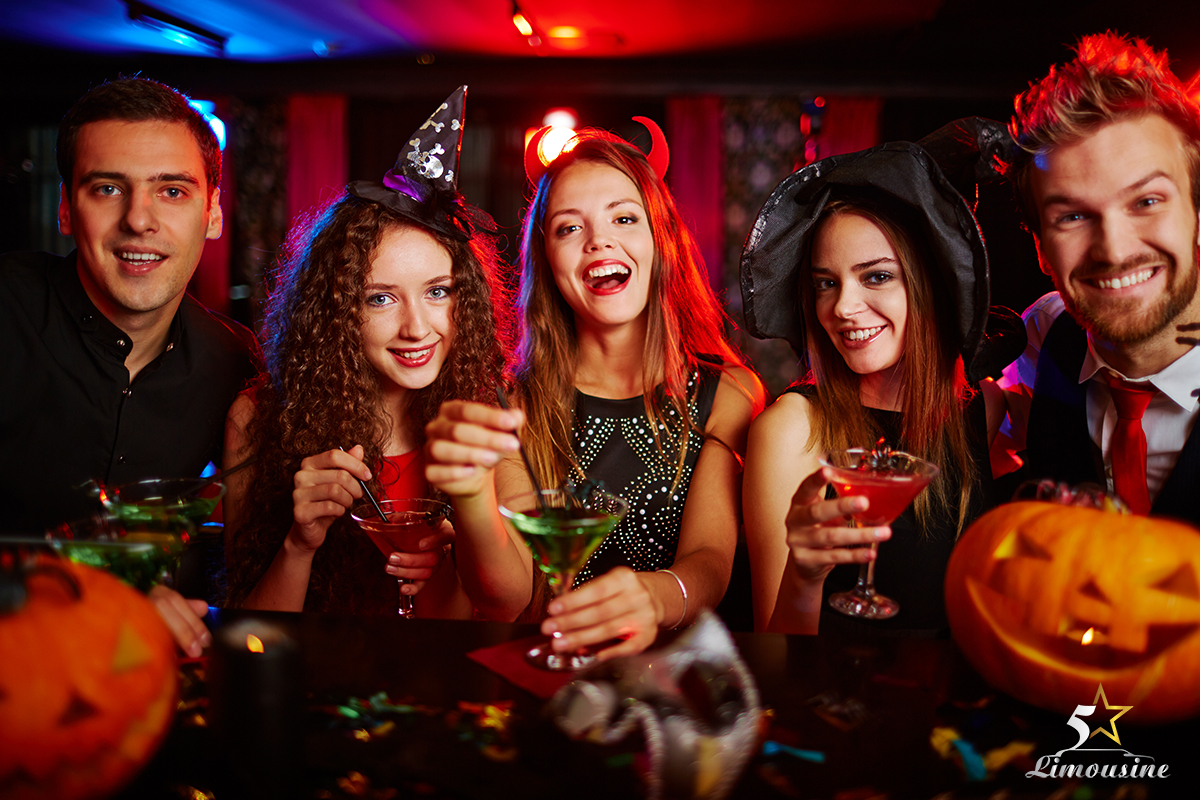 Party Bus Halloween 2015 in Las Vegas Nevada