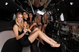Limousine for Bachelorette Party in Las Vegas